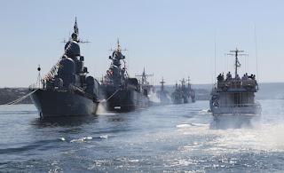 «Μαύρισε» απο Ρώσικα Πολεμικά η Μαύρη Θάλασσα…Ανησυχούν οι Τούρκοι!