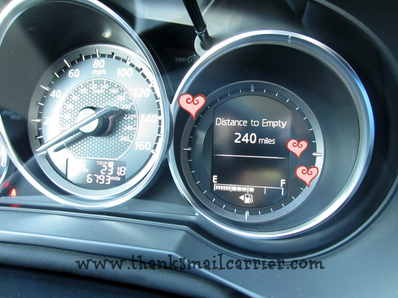 Mazda6 gas tank