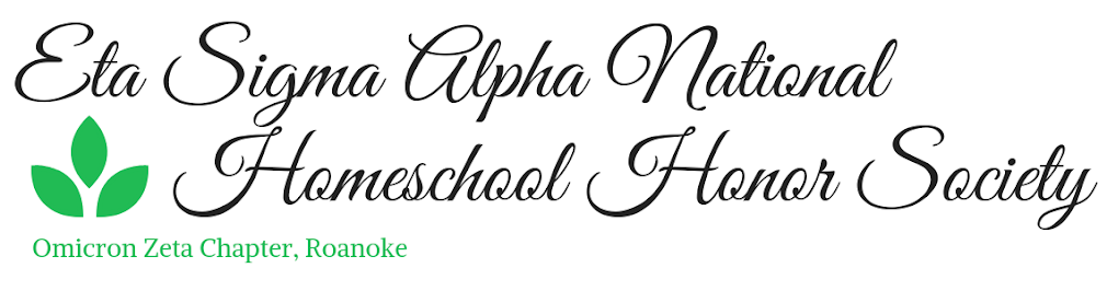 Eta Sigma Alpha National Homeschool Honor Society