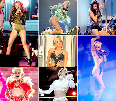 Miley Cyrus' Raciest Outfits