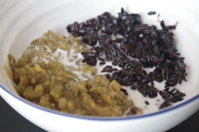 Makanan Sehat Bubur Kacang Hijau Ketan Hitam