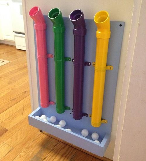 Joias do lar diy brincando com pvc for Pvc pipe toys ideas