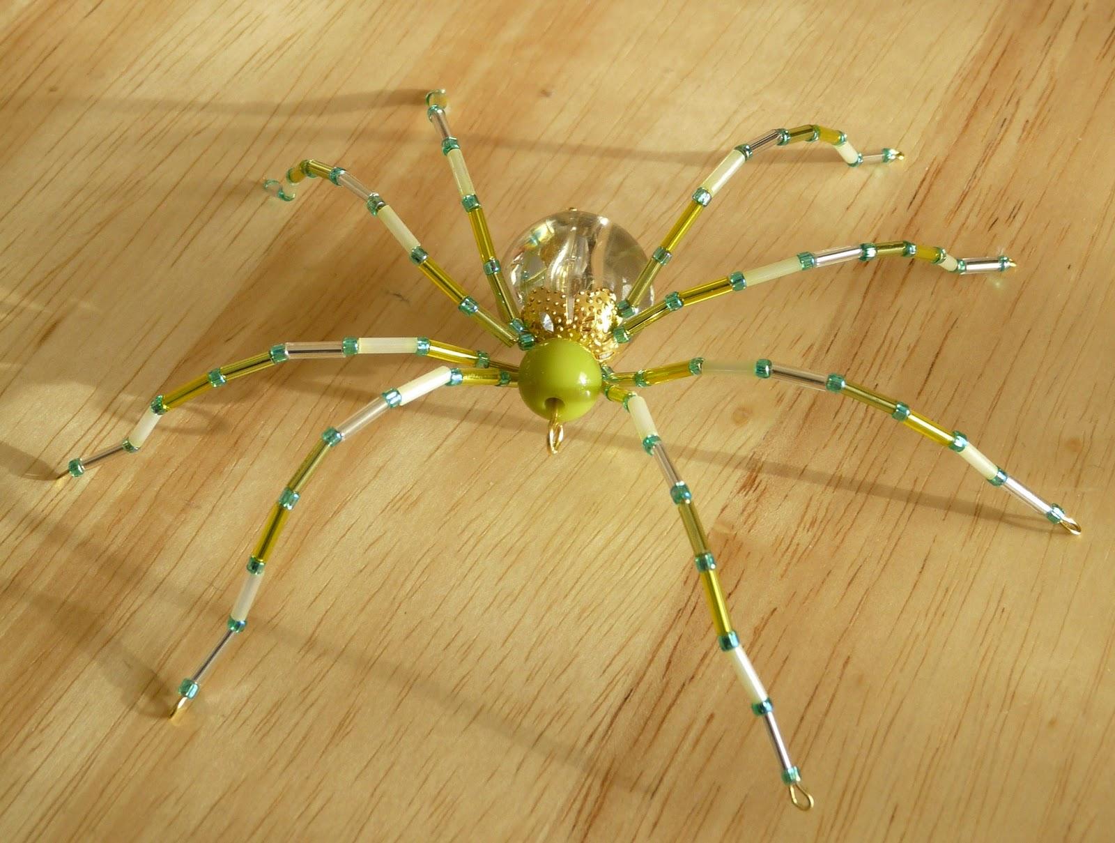Как сделать паука только из проволоки