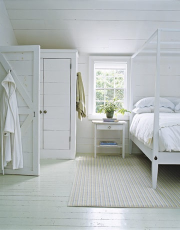 urban farmgirl sigh love a white painted floor. Black Bedroom Furniture Sets. Home Design Ideas