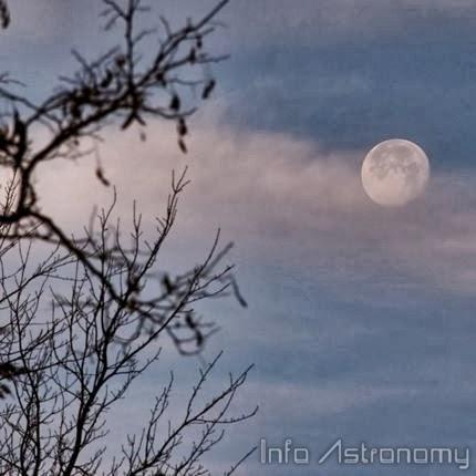 Bulan Akan Nampak di Langit Siang Dalam Beberapa Hari