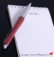 ecrire un texte d'amour
