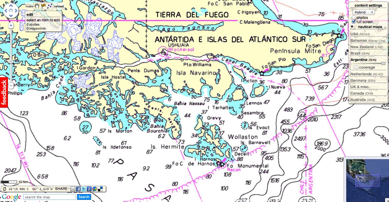 GeoGarage Blog Cape Horn On A Beach Catamaran - Argentina cape horn map