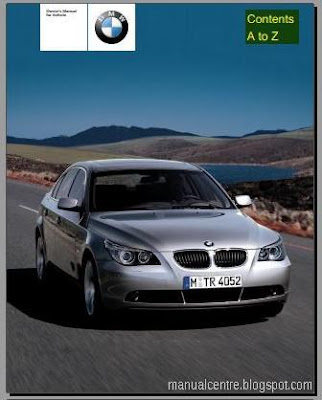2004 BMW 530i Owner's Manual