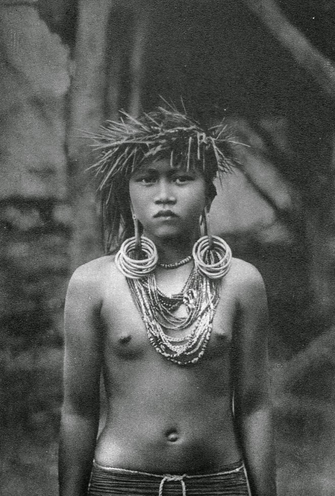 Borneo Woman by A.W. Nieuwenhuis