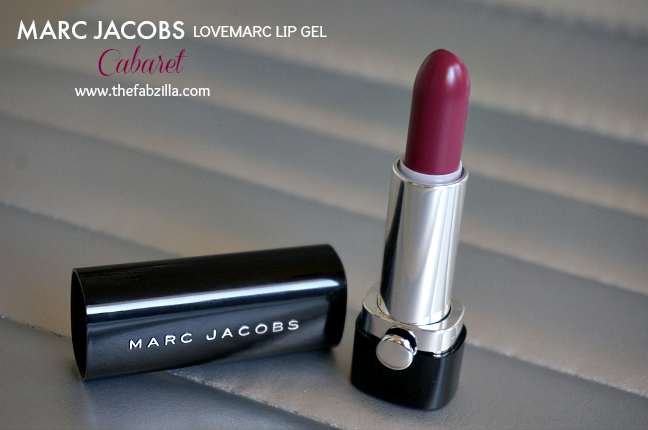 Marc Jacobs LoveMarc Lip Gel 146 Cabaret, Review, Swatch, Fall Lipsticks