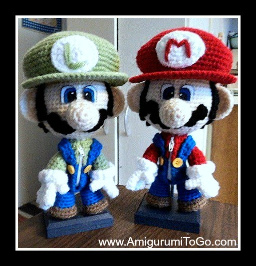Super Mario Bros Crochet Pattern Free Amigurumi To Go