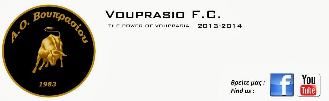 VOUPRASIO F.C. 2013-2014
