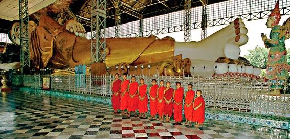 The Shwethalyaung Buddha