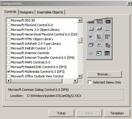 Free Download Microsoft Multimedia Control
