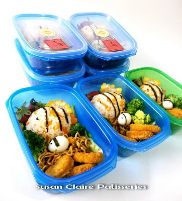 kid 39 s bento fish w lunch box. Black Bedroom Furniture Sets. Home Design Ideas