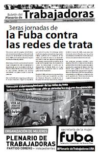 BOLETÍN PLENARIO DE TRABAJADORAS UNIVERSIDAD. TERCIARIOS. SECUNDARIOS
