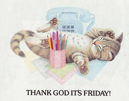 It&#39;s TGIF! If you&#39;re like me,
