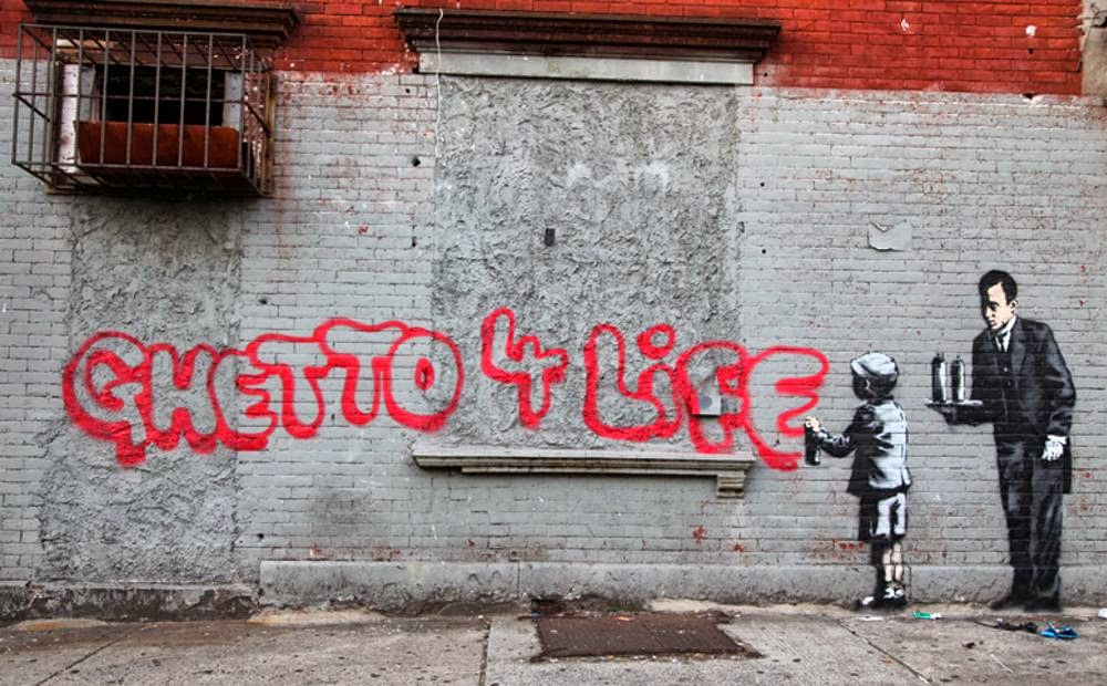 banksy s artwork in detroit
