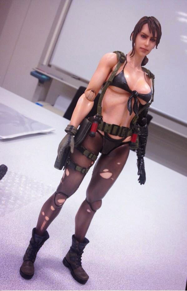 Sexy Figure Metal Gear Solid V