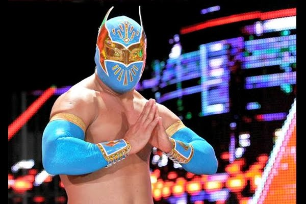 wwe sin cara logo. Wwe Sin Cara Outside Of the