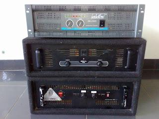 10. Power amplifier monitor, lokal (rakitan)