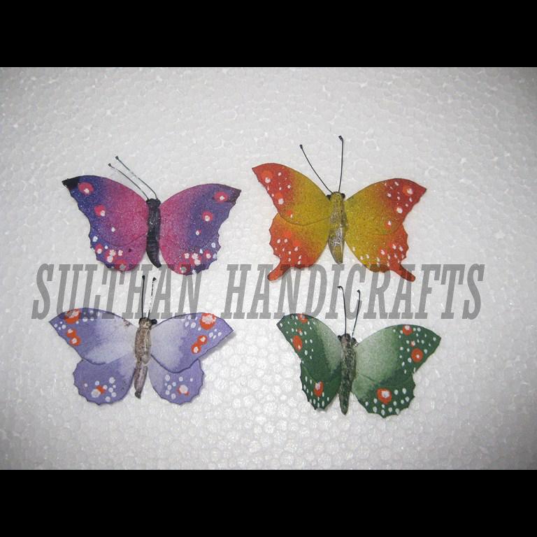 Kerajinan kupu kupu dari DAUN