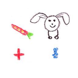 Ilusión óptica, desaparecer y dar de comer al conejo, ciencia para niños