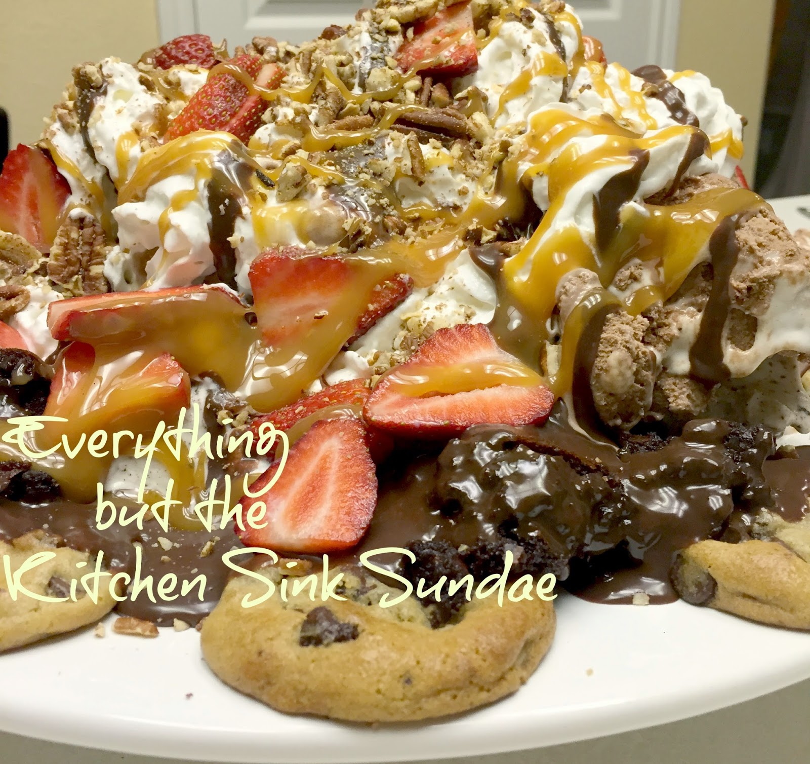 Everything But The Kitchen Sink Sundae - Purple Chocolat Home