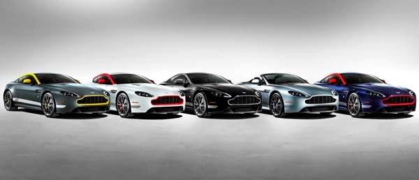list of 2015 Aston Martin V8 Vantage GT
