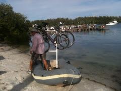 Unique Bike Transit Ashore
