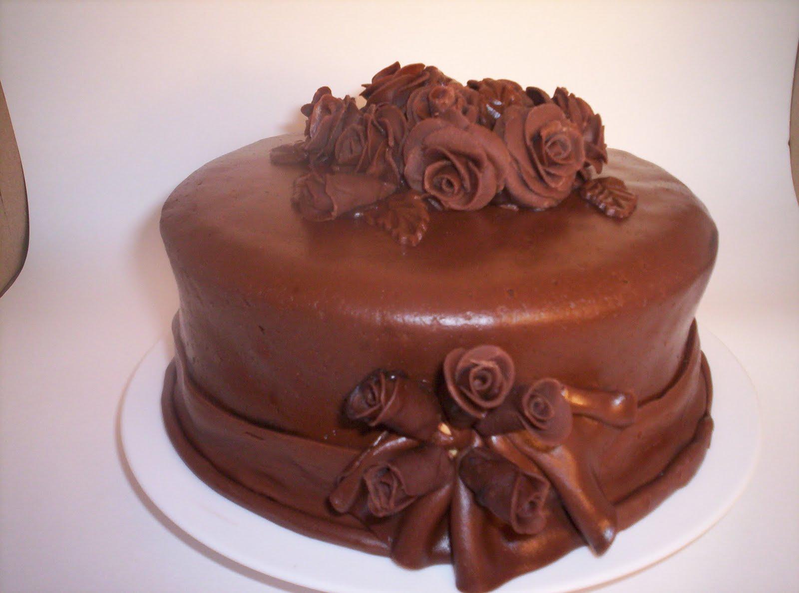 Images Of Beautiful Chocolate Cake : Stinaldi Cakes: Double Chocolate Supreme