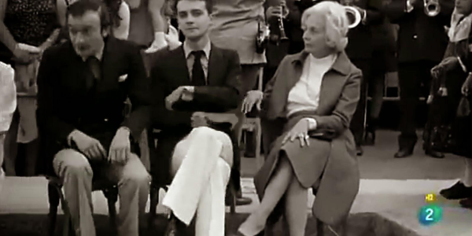 Desde la izquierda, Juan Luis y Michi Panero y Felicidad Blanc. Los hermanos y la madre de Leopoldo María Panero