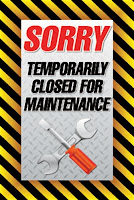 Sorry Car Wash Temporarily Closed for Maintenance