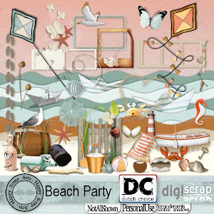 Happy Scrap Arts ::  Beach Party.