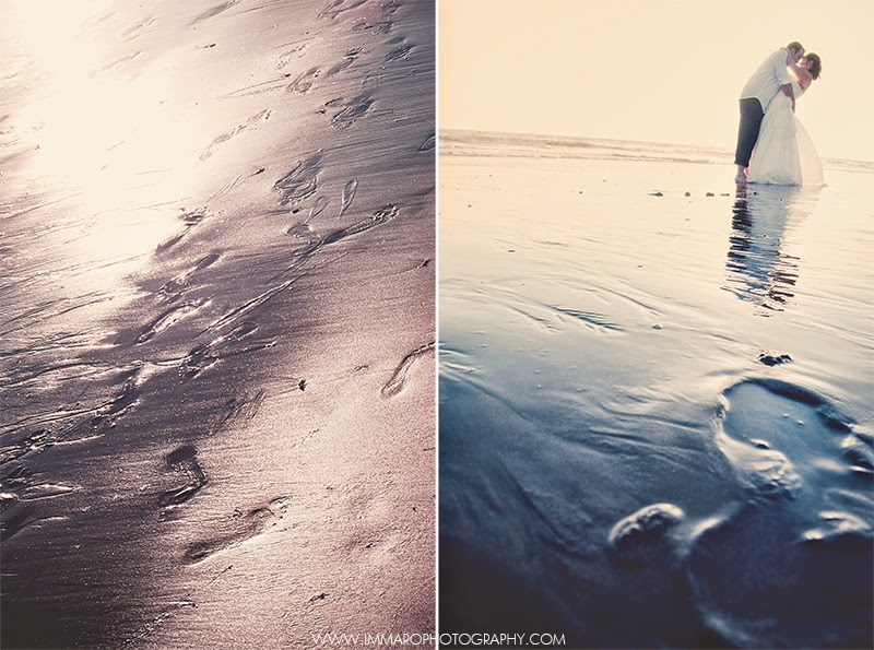 Postboda en la playa