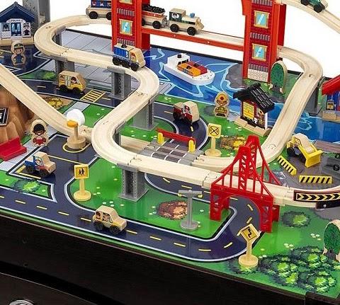 Ordinaire Metropolis Train Table And Set   Kids Fun