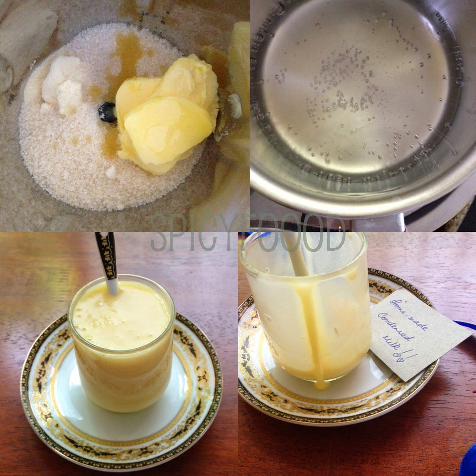 Homemade condensed milk how to