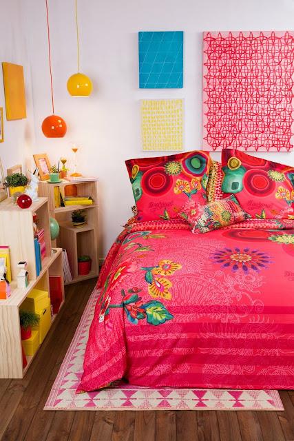 Fundas nordicas reversibles desigual nueva coleccion d 39 orte zaragoza cortinas estores - Desigual ropa de cama ...
