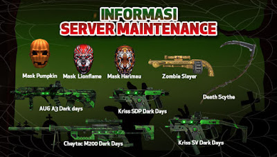 Maintenance Server PB Garena Indonesia