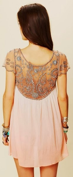 Embellished lace detail lovely dress