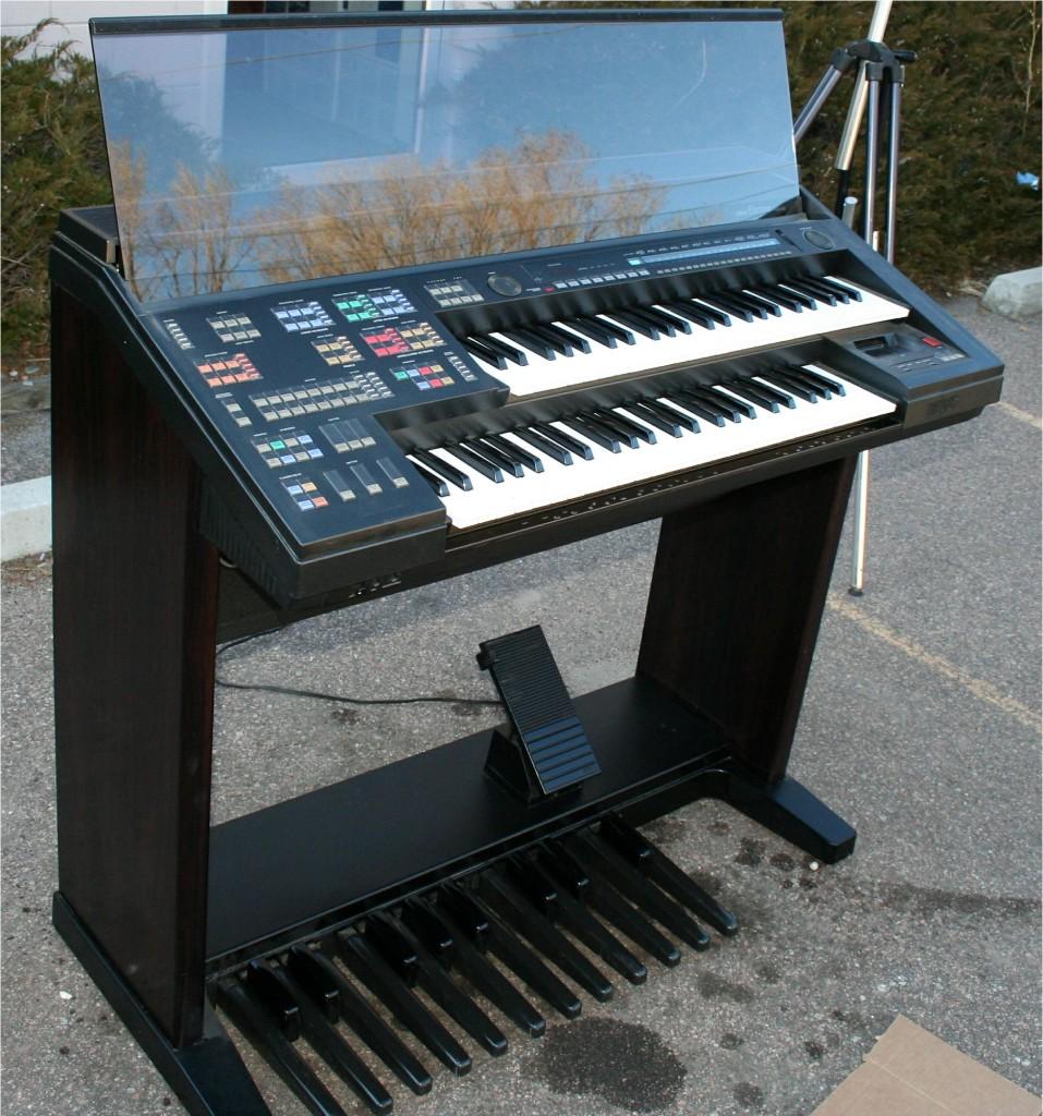 Matrixsynth rare yamaha electone hs 6 organ synthesizer for Yamaha electone organ models