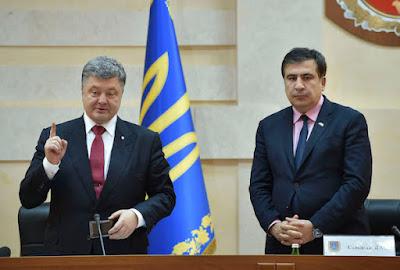 Саакашвили стал гражданином Украины и возглавил Одесскую областную администрацию