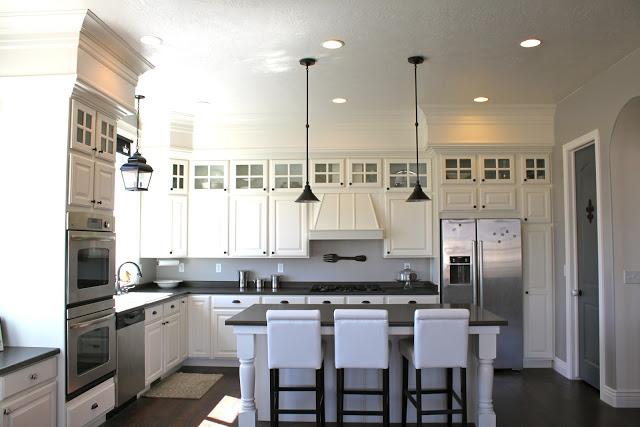 Closing The Space Above Kitchen Cabinets The