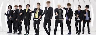 Super Junior Facebook Cover