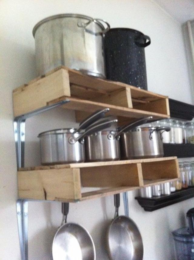 5 ideias de como usar paletes de madeira na cozinha