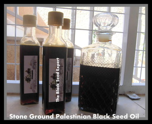 PALESTINIAN STONE GROUND BLACK SEED OIL