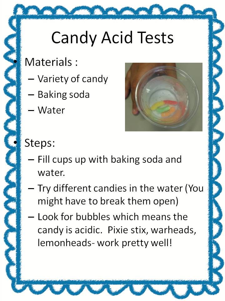 CANDY SCIENCE - Summer Camp Day 2 - SSSTeaching