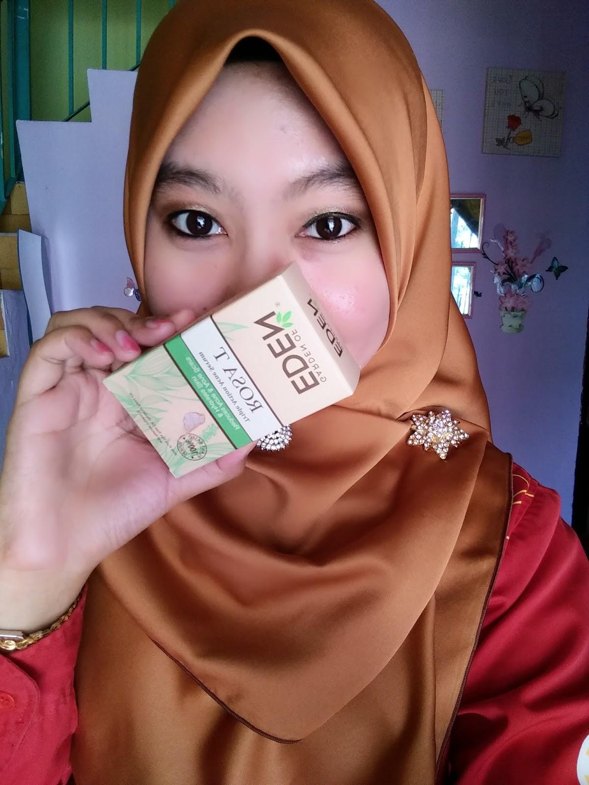 Masa tu ade promosi I beli Rosa T acne Serum dapat free Nature E dalam satu kotak
