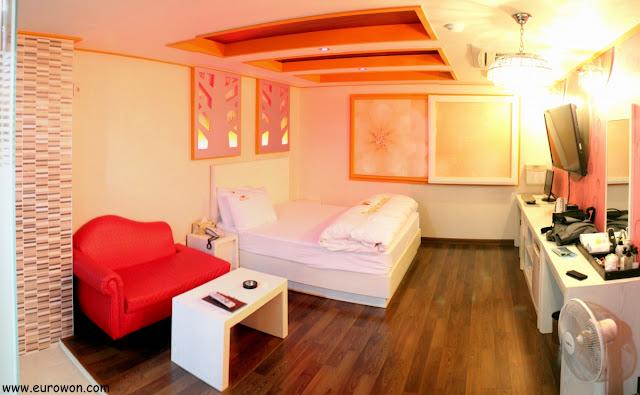 Habitación de motel coreano