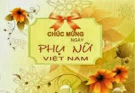 Tin nhắn chúc mừng ngày phụ nữ Việt nam 20-10